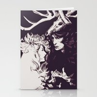 Old Forest Gods - NBC Ha… Stationery Cards