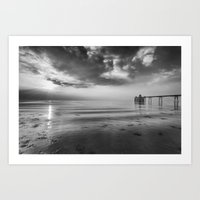 Clevedon Pier Art Print