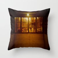 The Regulars Throw Pillow