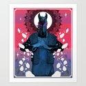 Behold your King - MEGA CHEVAL Art Print