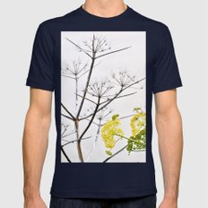 WILDFLOWERS Sicily Mens Fitted Tee Navy SMALL
