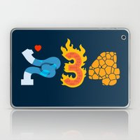 Fantastic Numbers Laptop & iPad Skin