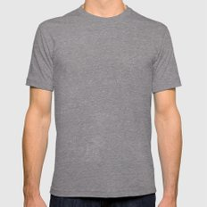 Deep Field Mens Fitted Tee Tri-Grey SMALL