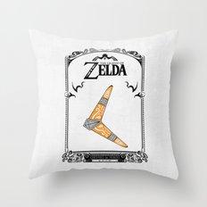 Zelda legend - Boomerang Throw Pillow
