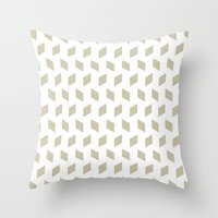 Rhombus Bomb In Tidal Fo… Throw Pillow