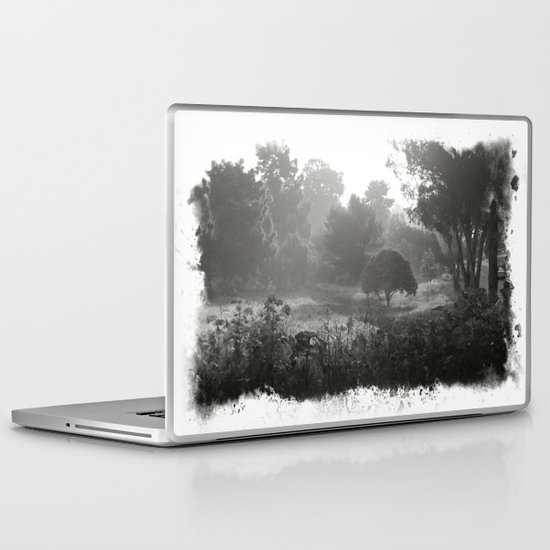 Foggy Path Laptop & iPad Skin