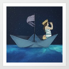 Night Adventure  Art Print