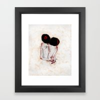 I didn't mean to fell in love tonight Framed Art Print