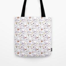 Heart Kids Pattern Tote Bag
