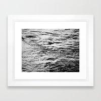 Ripling Water Framed Art Print