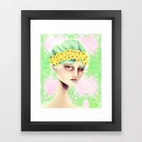 Flowers That Bloom Framed Art Print