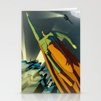superman Stationery Cards featuring Superman by Peerro