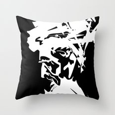 An Old Man Throw Pillow