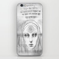 St. Benedict Ghost iPhone & iPod Skin