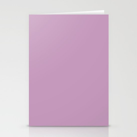 Granny's Purple Stationery Card