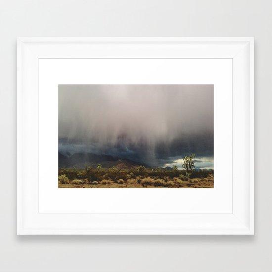 Arizona Storm Framed Art Print