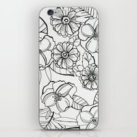 Floral Pattern I iPhone & iPod Skin
