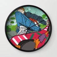 Marty Mc Fly Wall Clock