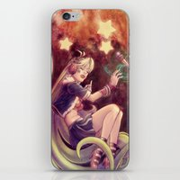 The Moon and the (Rock)Star iPhone & iPod Skin
