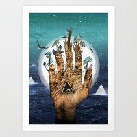 Stargate Art Print