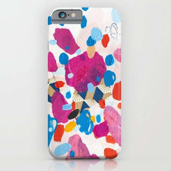 Fuchsia Physics iPhone & iPod Case