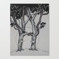 Canvas Print featuring Tree Love by Joy Reyes