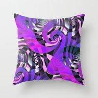 Interdimensional Whirl (… Throw Pillow