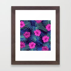 pattern# floral Framed Art Print