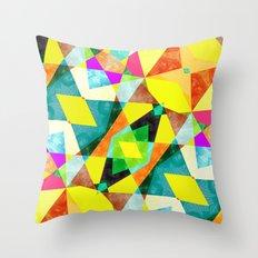 Kaleidab Throw Pillow