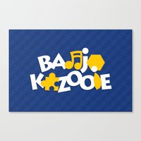 Banjo-Kazooie - Blue Canvas Print