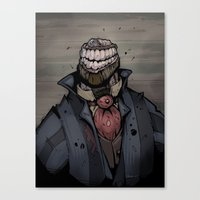 Best Dressed Monster Canvas Print
