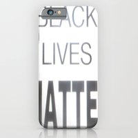 iPhone & iPod Case featuring Black Lives Matter by Sir Harvey Fitz