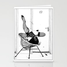 asc 517 - L'affût (Lying in wait) Stationery Cards