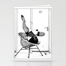 Asc 517 - L'affût (Lyi… Stationery Cards