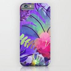 Purple Tropics Slim Case iPhone 6s