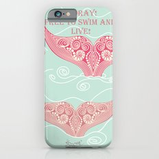 FINALLY! Whales are free from persecution! Slim Case iPhone 6s