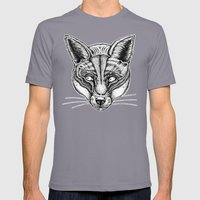 Fox Mens Fitted Tee Slate SMALL