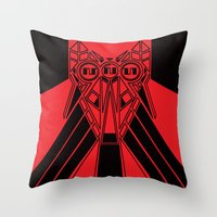 Power Wolf Throw Pillow
