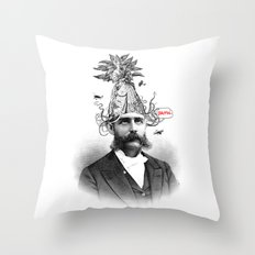 Damn! Throw Pillow