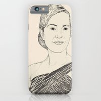 iPhone & iPod Case featuring Kate Winslet Portrait by Shane Noonan