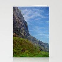 Misty Cliffs Stationery Cards