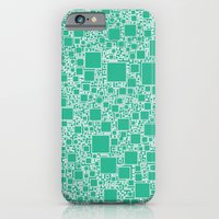 Boxes Teal iPhone 6 Slim Case
