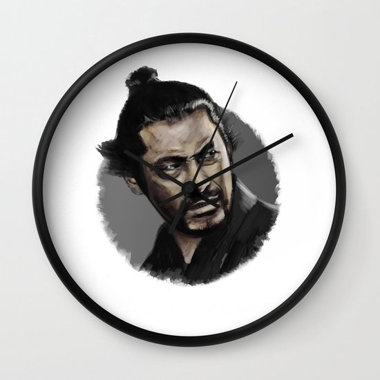 Yojimbo Wall Clock