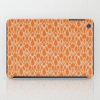 Lluvia Naranja iPad Case
