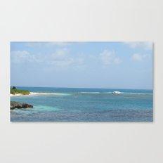 Shipwrecked - Antigua Canvas Print