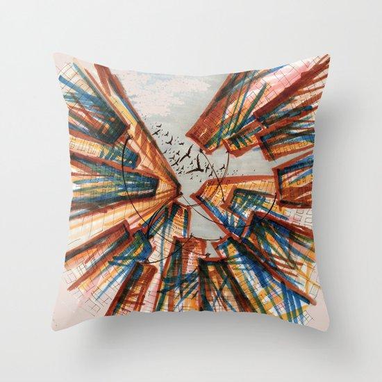 The City pt. 4 Throw Pillow
