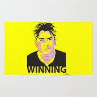 Charlie Sheen Winning_Ink Rug