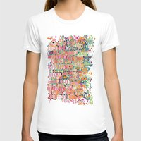 Cell Division Womens Fitted Tee White SMALL