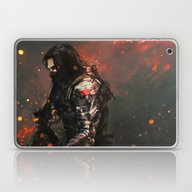 Laptop & iPad Skin featuring Blood In The Breeze by Alice X. Zhang