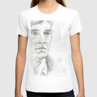sherlock T-shirts featuring Sherlock by Amanda Powzukiewicz
